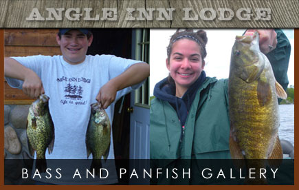 Angle Inn Lodge Bass and Panfish Gallery