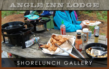 Angle Inn Lodge Shorelunch Gallery